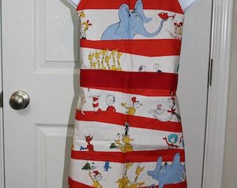 Child's Dr. Seuss Apron