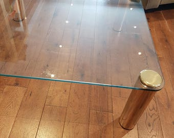 Pace Glass Coffee Table, circa 1970s