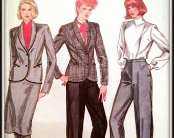 Buterick  4564    Misses Skirt, Jacket And Pants  Size  14  Uncut