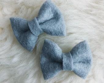 ESSIE Bow - Elephant Grey