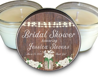 Set of (6) Bridal Shower Favors Set of 6 - 4 oz