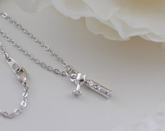 The Cordelia Necklace - Silver