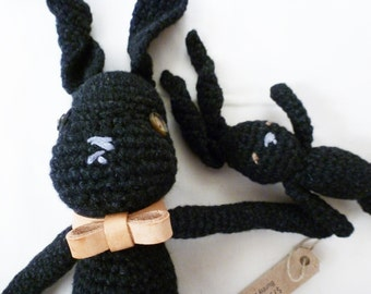 Bunny Buddies - Dark Charcoal