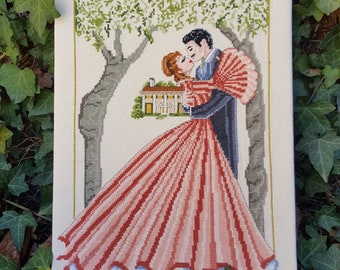Scarlett- Gone With The Wind- PDF  Counted Cross Stitch Chart Pattern Instant Download