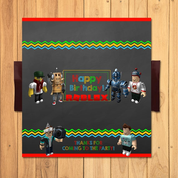 Roblox Candy Bar Wrapper Chalkboard Roblox Chocolate Bar