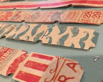 Circus Embellishments - Circus Tickets - Circus Tags - Circus Stamps -