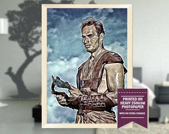 Ben Hur print, fanart, ben hur movie, ben hur poster, cool posters, ben hur, vintage, vintage posters, christmas, cool art, 1959