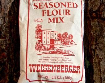 Weisenberger's Seasoned Flour Mix 5.5oz Package