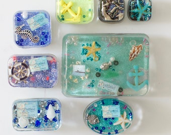 Nautical Resin Magnets