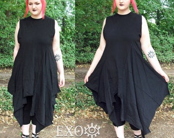 Vampire dress, Handmade, Plus sizes.