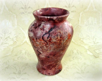 Decorative Saggar Fired Vase