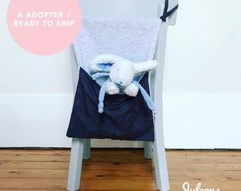 Put blanket or gray to adopt - Pajama bag / sky