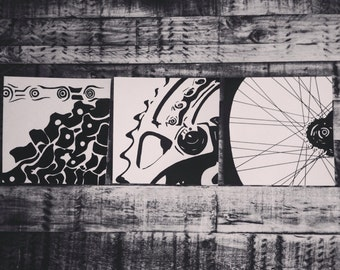 Abstract bike series