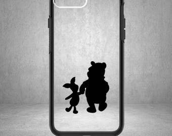Pooh and Piglet Decal, Disney Pooh and Piglet Decal, Disney Winnie the Pooh Sticker, Phone Cover, Winnie the Pooh, Piglet, Eeyore, Pooh