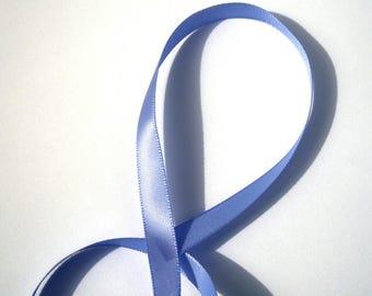 9 mm sold per meter Lavender satin ribbon