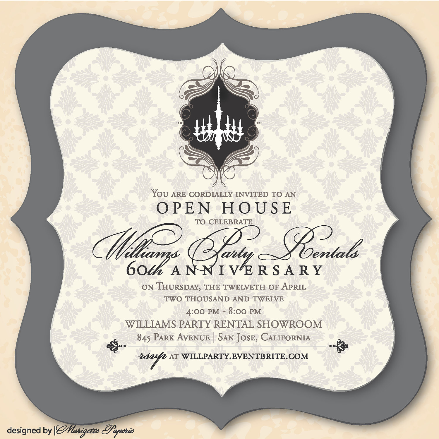 Elegant Party Invitation