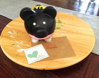 Piggy bank; Batman with name