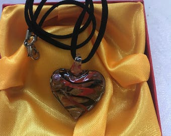 Morano made the Lampwork handmade glass necklace perfect gift for her