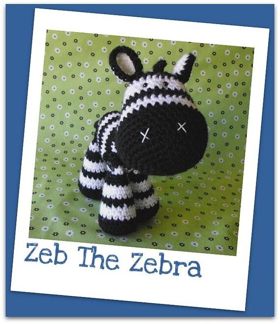 Crochet pattern amigurumi zebra zeb crochet pattern amigurumi zebra zeb dt1010fo