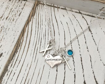 Personalized Confirmation Necklace