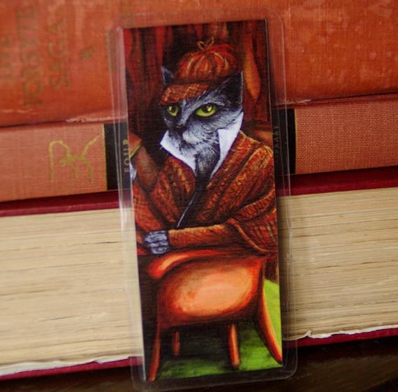 Sherlock Holmes Cat Bookmark