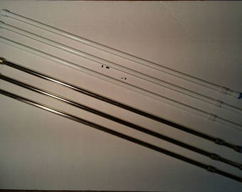 Set of Two Extendable Tension Rods