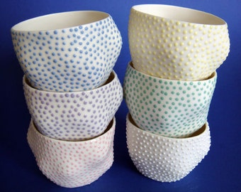 Large Dotted Guinomi Sake Cup
