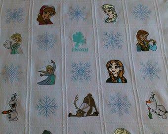 Frozen Afghan Blanket