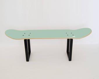 Inspiration furniture for skateboard fan - Perfect gift for birthday - Skate Stool Mint