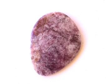 Rare Ussingite natural stone cabochon  55 x 42 x 7 mm
