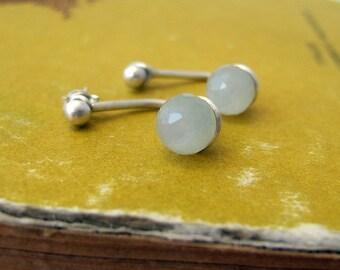 Sterling Silver Moonstone Ear Jackets