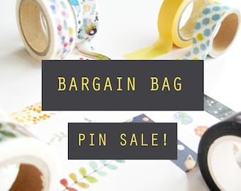 SALE Bargain pin pack of 11 assorted pins!