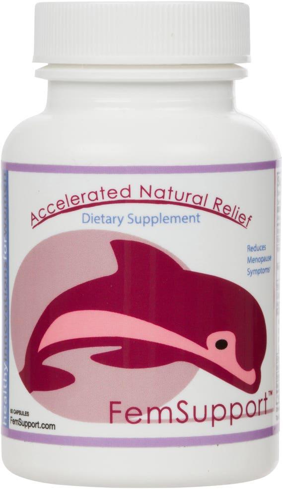 FemSupport Natural Menopause Relief Alternative Progestererone Estrogen balance Formula Pills Hormone Therapy