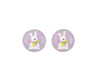 Easter Earrings, Easter Basket Stuffers, Easter Bunny Earrings, Easter Jewelry, Easter Gifts