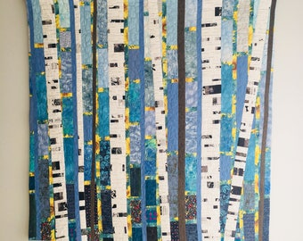 Birch Trees - Fall