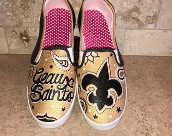 New Orleans Saints women's shoes