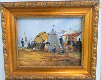 Impressionist painting by Eugene Boudin - Artist Reproduction