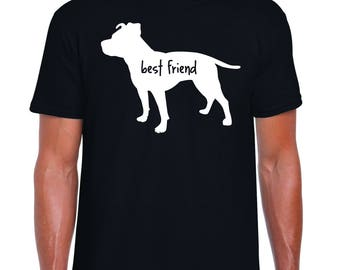 Pit bull best friend t-shirt-super soft!