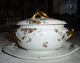 Limoges tureen with lid, Haviland & Co