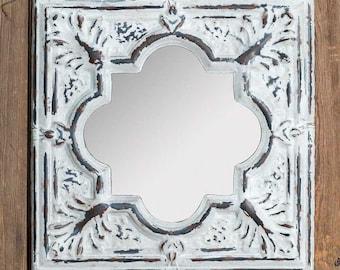 Arabesque Tile Mirror