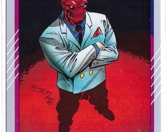 1991 RED SKULL Marvel Universe Series 2 Card