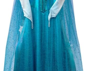 Queen Elsa Dress, Queen Elsa of Arendelle, Disney Frozen Dress - Made to Order - Exquisite!