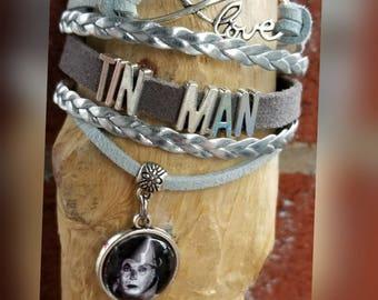Infinity Love Tin Man bracelet