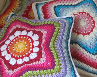 5-Pointed Star Pillow, PDF-Pattern