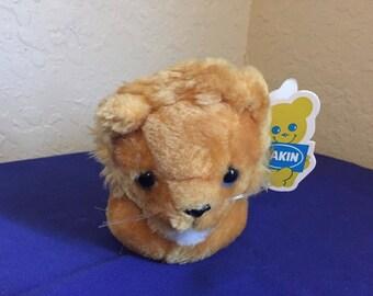 1981 Dakin Limerick Lion plush stuffed animal with tags