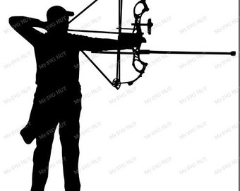 Archer silhouette male
