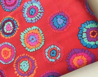 Kaffe Fassett Plink Fabric, Red GP 109, Rare, OOP, HTF