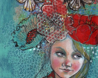 Dreaming Of You -ACEO  Open edition reproduction by Maria Pace-Wynters