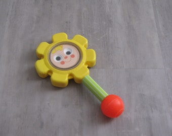 Vintage Fisher Price Flower Rattle