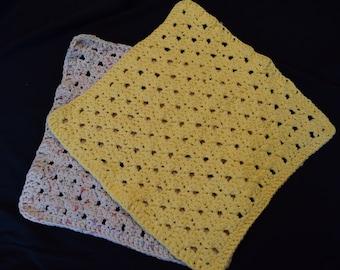 100% Cotton Handmade Crochet Washcloth